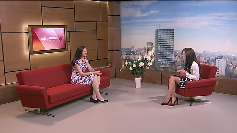 """Боряна Герасимова във """"Всеки следобед с Криси"""" по Канал 3"""